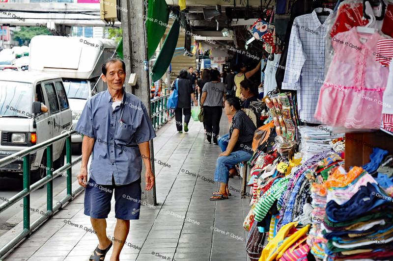 Bangkok, Nov 24th, 2016 - Pratunam Market