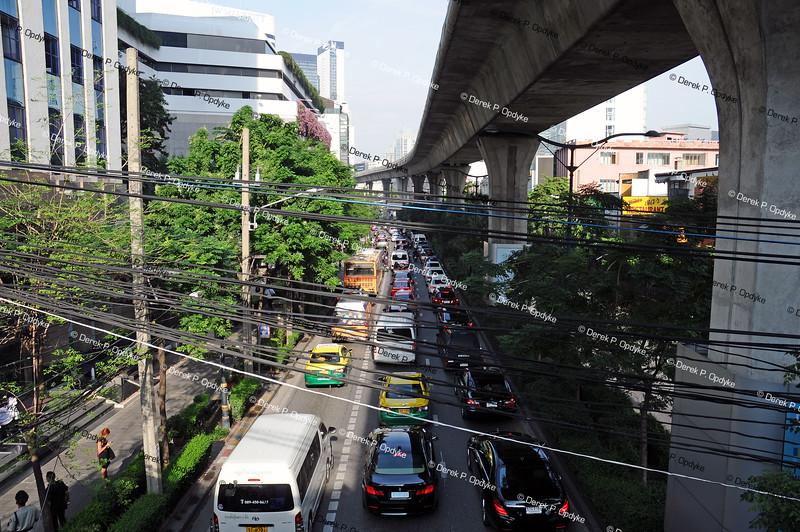 Bangkok Nov 20th, 2016 - Sukhumvit Road