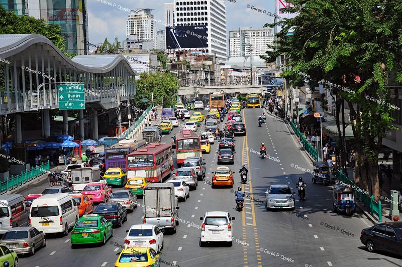 Bangkok, Nov 24th, 2016 - Ratchadamri Road
