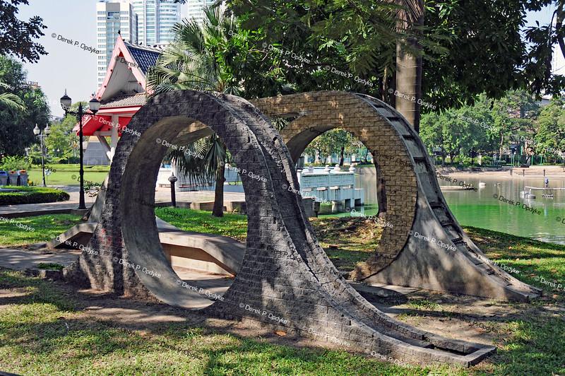 Bangkok, Nov 30th, 2016 - Benjasiri Park