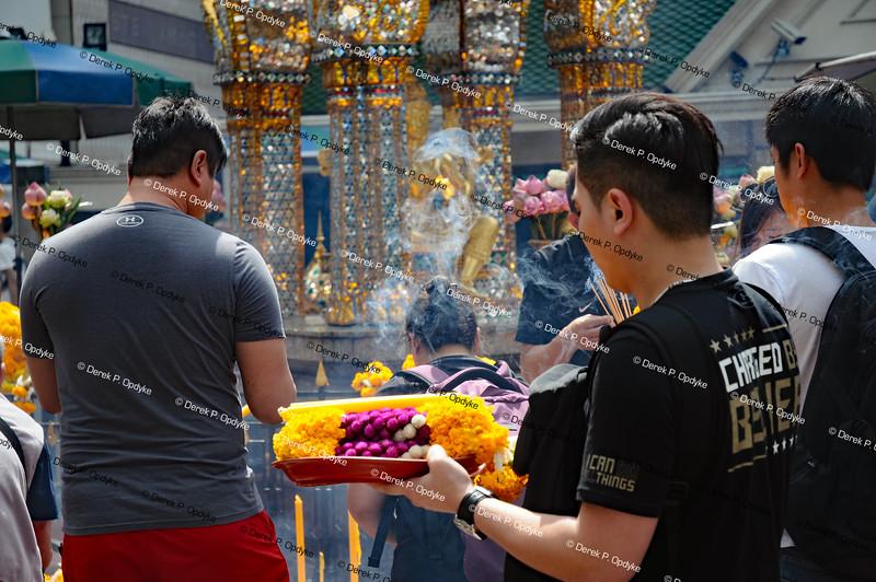 Bangkok, Nov 24th, 2016 - Erawan Shrine