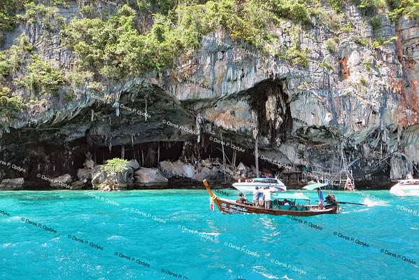 Ko Phi Phi Lee Island, Nov 26th, 2016 - Viking Cave