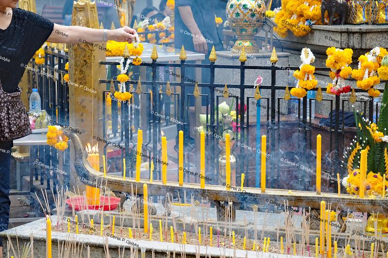Bangkok, Dec 3rd, 2016 - Erawan Shrine