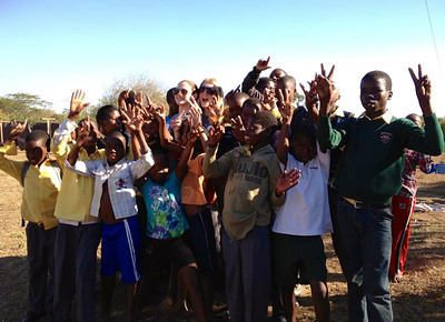 Students at the Khulani Special School, a project supported by Africa Foundation