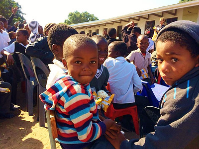 Feeding Program at Nkomo Primary School