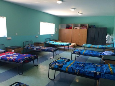 Dormitory at the Khulani Special School