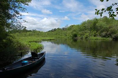 Kayaking Peconic River