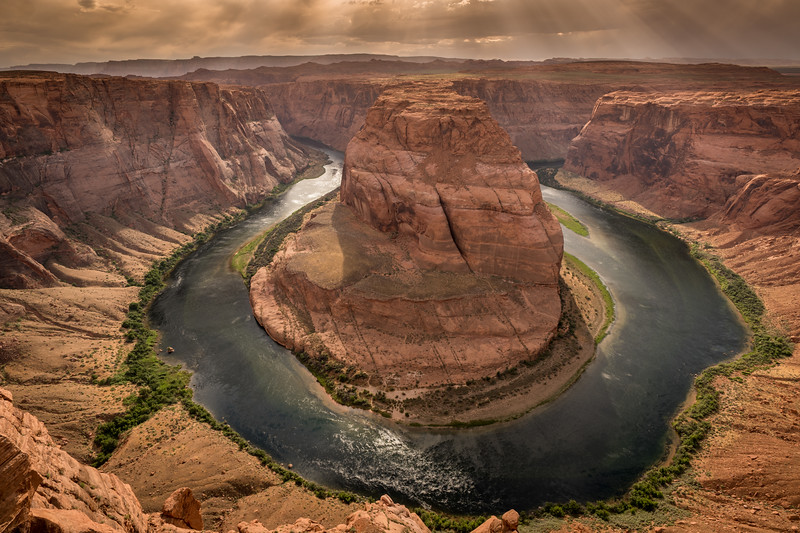 River Bend, Colorado River, Page, AZ