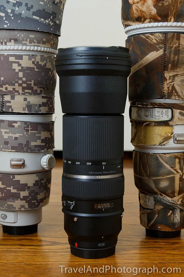 The Tamron SP 150-600mm f/5-6.3 Di Vc Usd