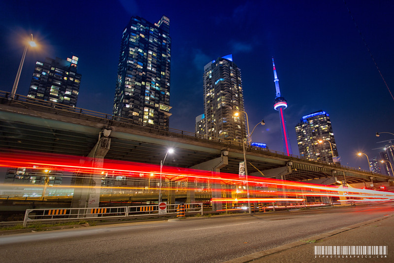 On my way to CN Tower