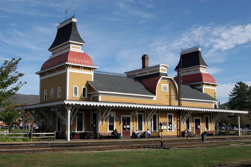 Train Station in Concord New Hampshire