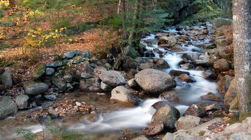 Franconia Notch Cascade
