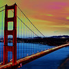 Artistic Golden Gate Bridge