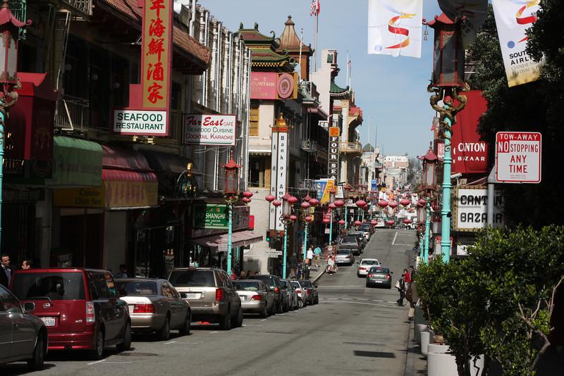 China Town in San francisco