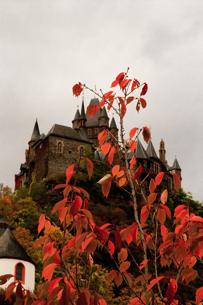photos made in the city of Cochem in Germany
