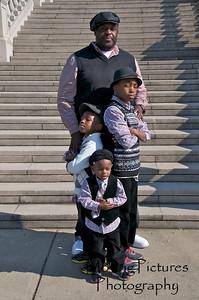 Rick, Crenee & family
