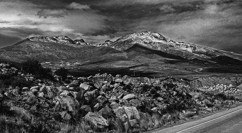 89  Landscape, en route to Potosi