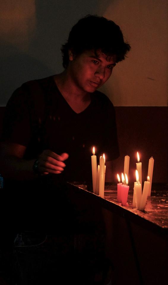 56  Eight candles, Santa Cruz