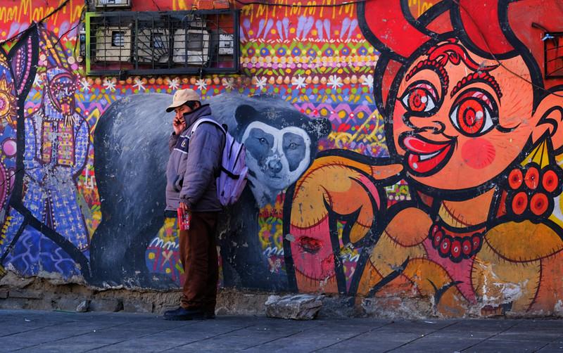 95  A call at the wall, La Paz