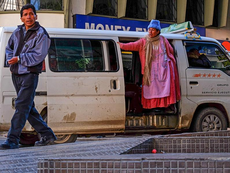 98  Minibus, La Paz