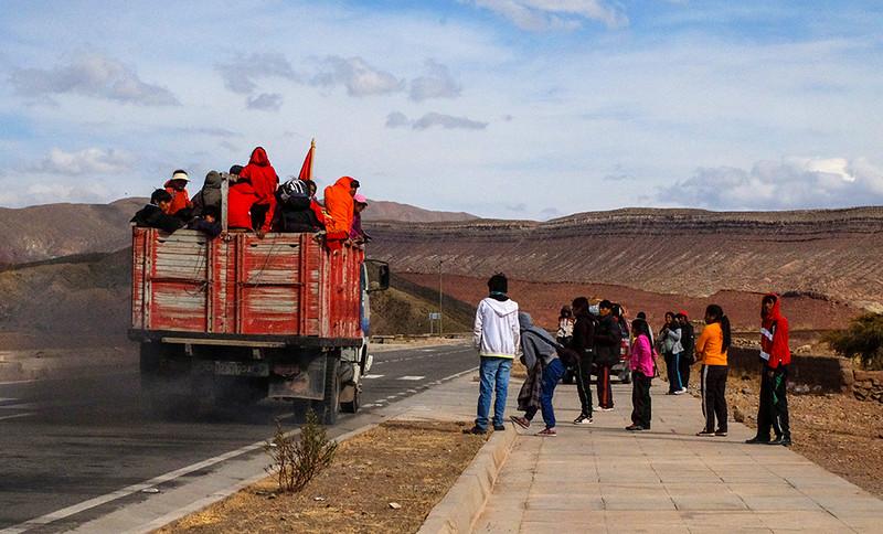 91  Schoolbus, en route to Uyuni