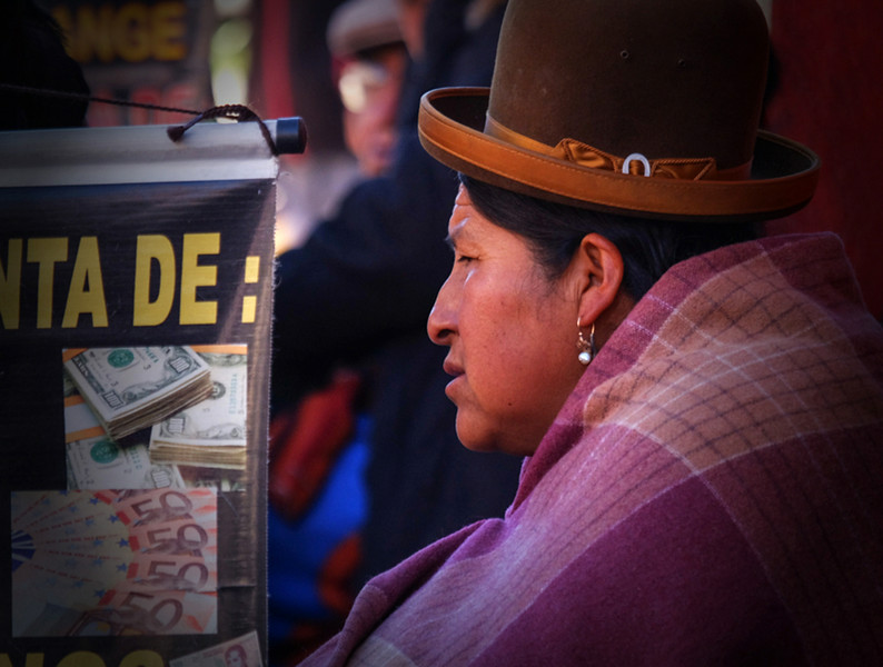 101  Money changer, La Paz
