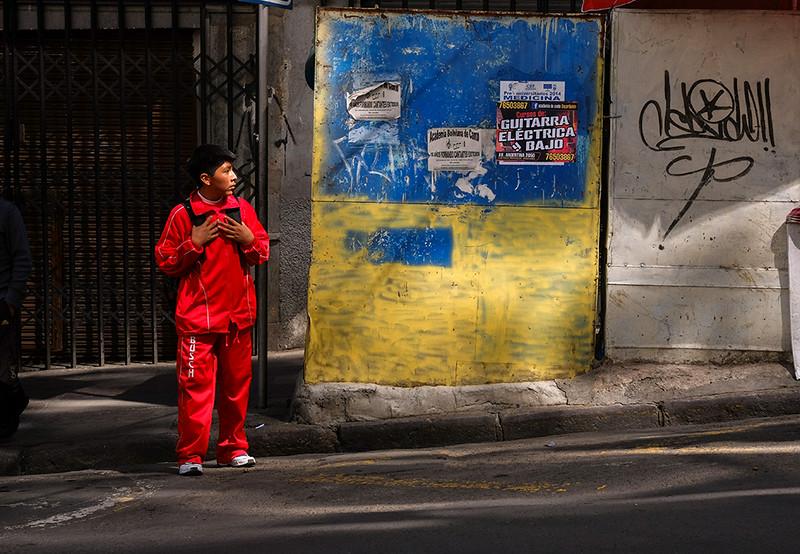 100  Crosswalk, La Paz