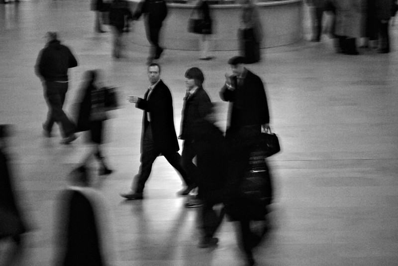 Morning rush in Grand Central