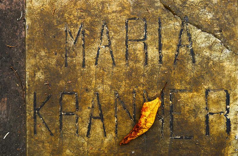 Grave marker, Cuenca cemetery