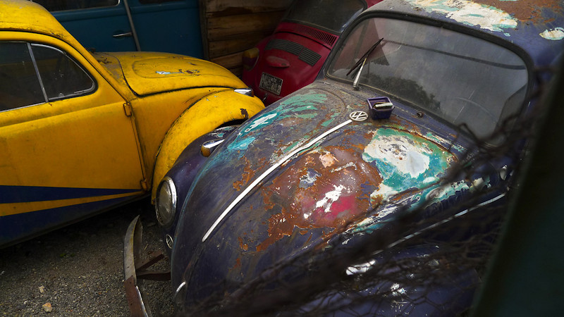 Where old VW's go to die, Cuenca