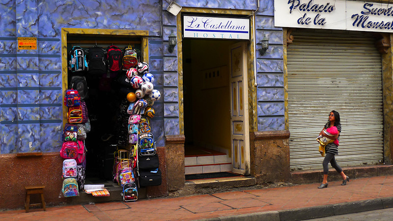 Street scene, Cuenca