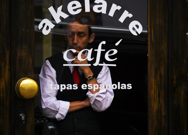 Waiting for customers, Cuenca