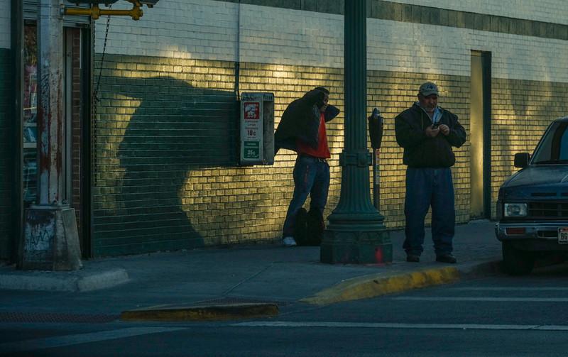 47  Street life, El Segundo Barrio, El Paso, Texas
