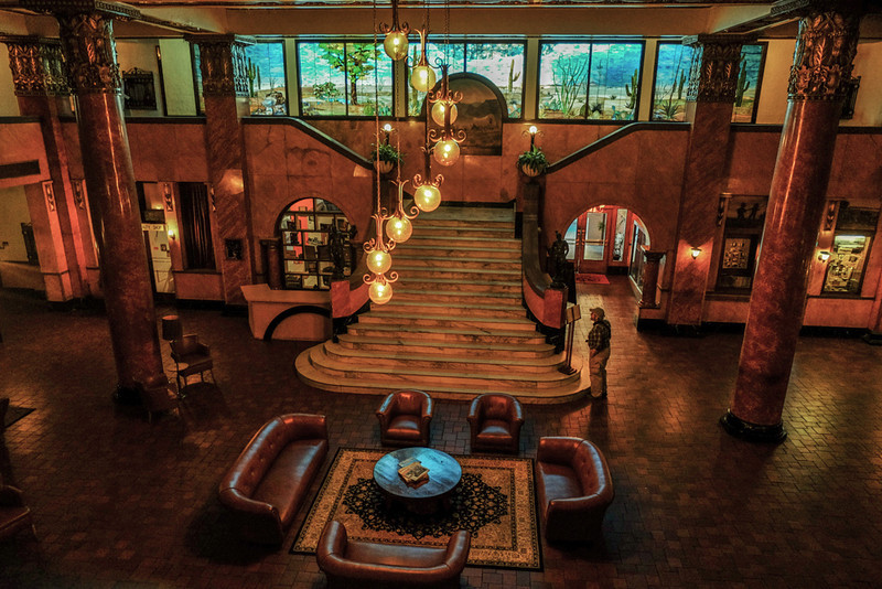 56  Lobby, Gadsden Hotel, Douglas, Arizona