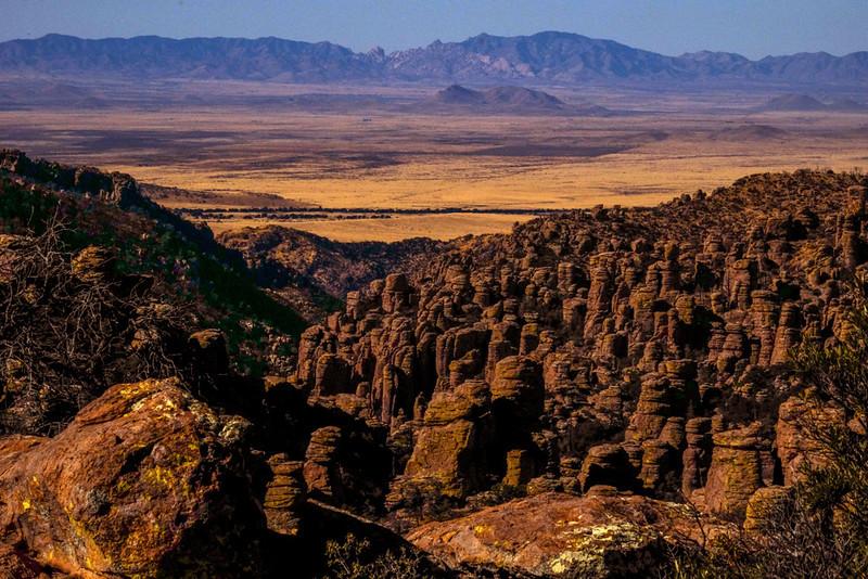 """57  Land of """"Standing Up Rocks,"""" Chiricahua National Monument, Arizona"""