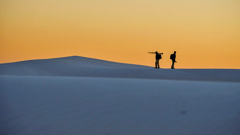 36  Farewell, White Sands National Monument, New Mexico