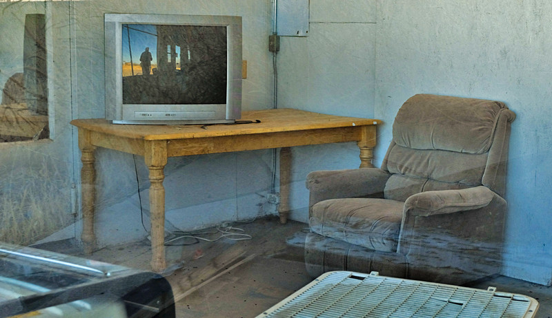 49  Ghostly office, Hachita, New Mexico