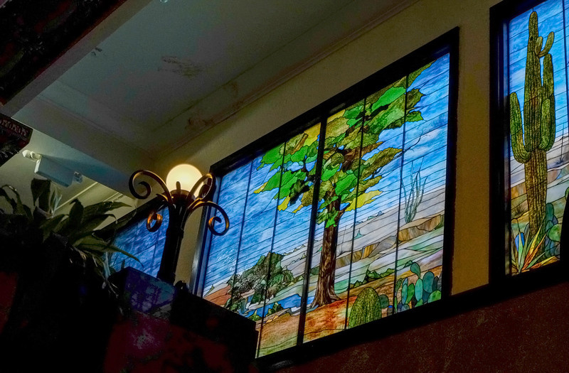 54  Tiffany mural, Gadsden Hotel, Douglas, Arizona