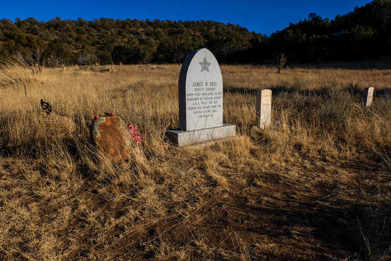 23  Echoes of the Wild West, Cedarvale Cemetery, White Oaks, New Mexico