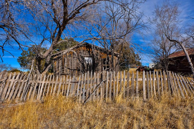 9  Abandoned home, Pie Town, New Mexico