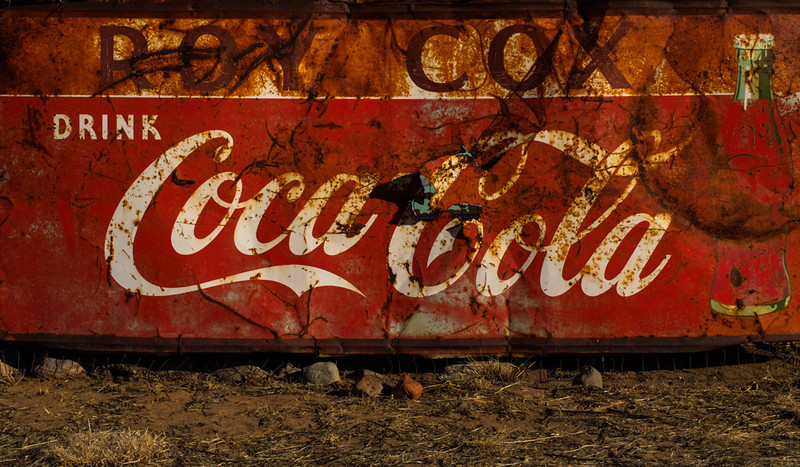 11  Coca Cola signage, Pie Town, New Mexico