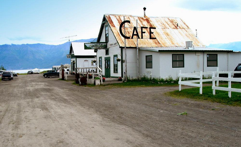 Hope's main street: where the road ends - You get to Hope by staying on a Kenai peninsula road until it ends by running into Cook Inlet. It's gold rush days are long behind it. It has not been commercialized, and offers visitors a genuine touch of the frontier.