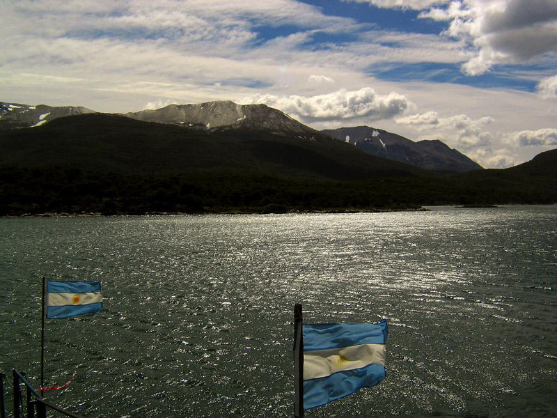 Lapataia Bay, Argentina: End of the Road - This is as far as the road runs -- Argentina's Route Three stops here at Lapataia Bay, in Tierra del Fuego National Park on the Beagle Channel. On the other side is uninhabited Chilean territory.