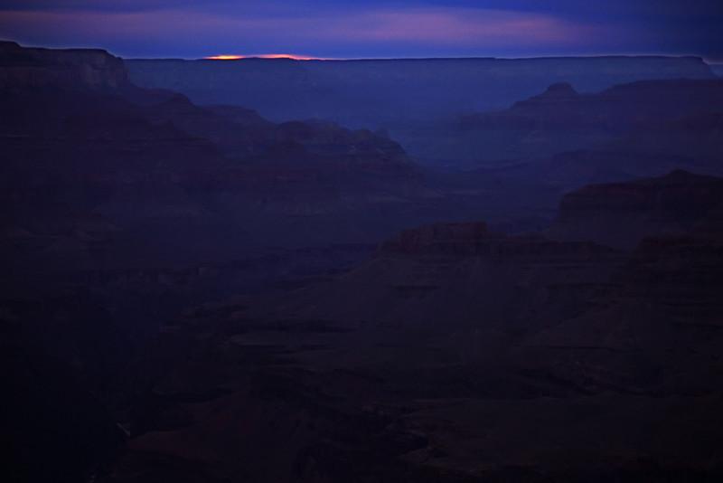 Last Light, Grand Canyon