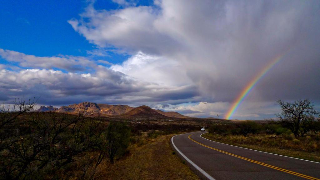 Sierrita Mountains Rainbow
