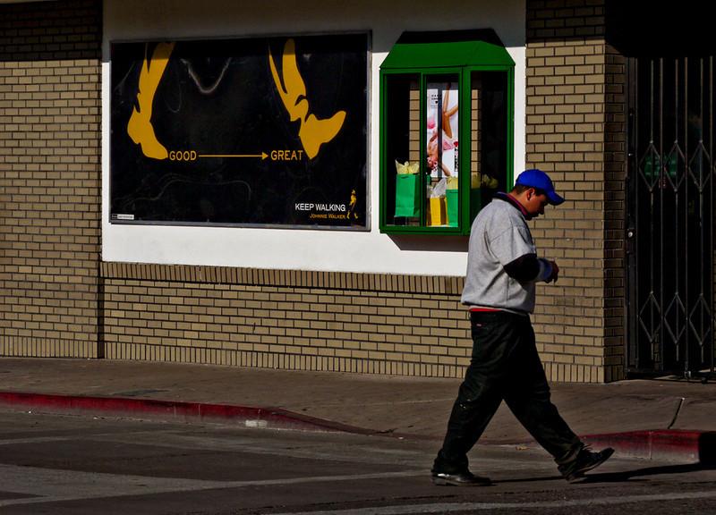 In stride, Nogales, Arizona