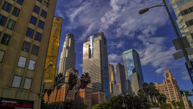Skyline, Downtown Los Angeles, California