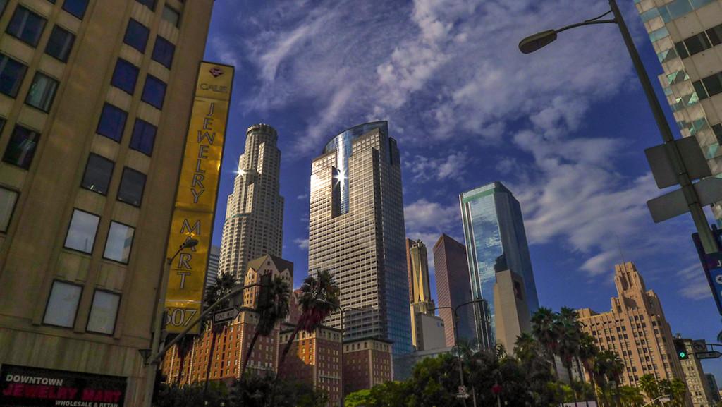 Skyline, Downtown Los Angeles, California