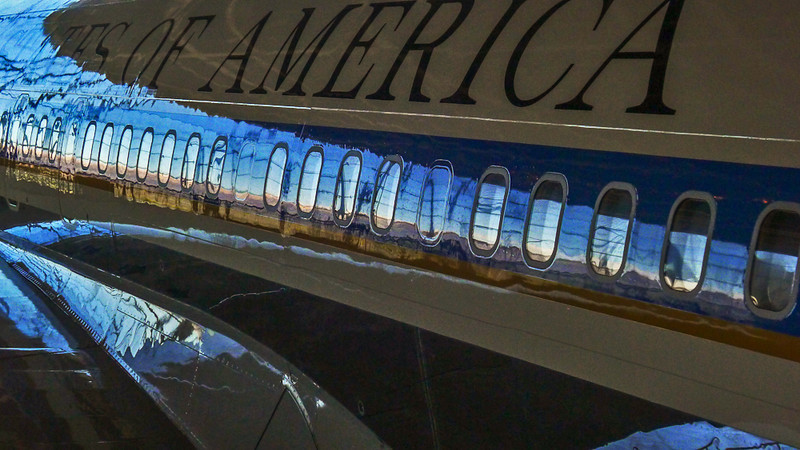 Air Force One, Reagan Library, Simi Valley, California