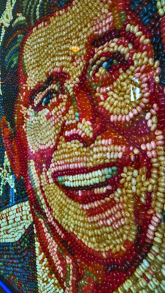 Jelly Bean Mosaic, Reagan Library, Simi Valley, California